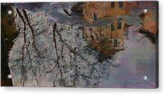 Reflection Acrylic Print by Khadzhi-Murad Alikhanov