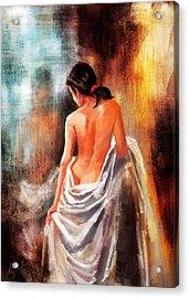Reflection  Acrylic Print by Kiran Kumar