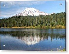 Reflection Lake - Mt. Rainier Acrylic Print