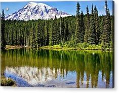 Reflection Lake Acrylic Print by Joe Urbz