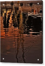 Reflection Acrylic Print by Mario Celzner