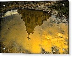 Reflection Of Worship Acrylic Print by Dale Stillman