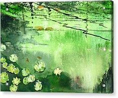 Reflections 1 Acrylic Print by Anil Nene