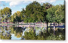 Reflections Acrylic Print by Diane Wood