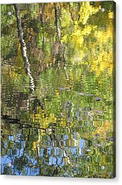 Reflections In Paradise 1 Acrylic Print by Anita Burgermeister