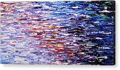 Acrylic Print featuring the painting Reflections by Kume Bryant