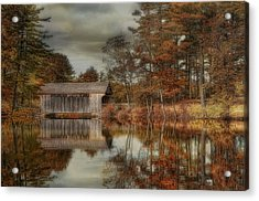 Reflections Of Autumn Acrylic Print by Robin-Lee Vieira