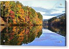 Reflections Of Autumn Acrylic Print by Susan Leggett