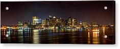 Reflections Of Boston Acrylic Print
