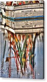 Reflections Of Darien Acrylic Print