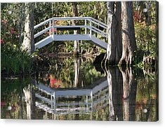 Reflection's Of Spring Acrylic Print