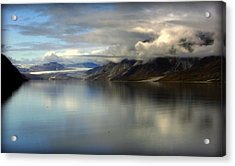 Reflections Of Stillness Acrylic Print by Karen Wiles