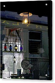 Reflections Of The Past Acrylic Print by L Granville Laird