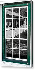 Reflections Of The Past Acrylic Print