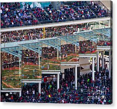 Reflections On Opening Day Acrylic Print by Jeremy Fear
