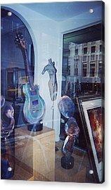 Reflections San Francisco Acrylic Print by TB Schenck