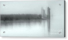 Reflections Through The Fog Acrylic Print