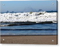 Acrylic Print featuring the photograph Refreshing by Jo Sheehan