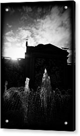Refreshing Suspension Acrylic Print by JM Photography