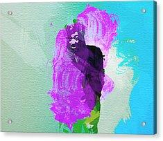 Reggae Kings 2 Acrylic Print by Naxart Studio