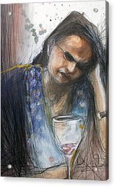 Regret Acrylic Print by Gregory DeGroat
