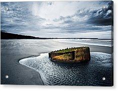 Reighton Sands Coast Acrylic Print by Svetlana Sewell