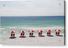 Relaxing At The Beach Acrylic Print
