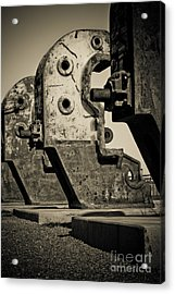 Relics Of A Bygone Era Acrylic Print by John Buxton