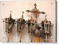 Religious Artifacts Acrylic Print by Gaspar Avila
