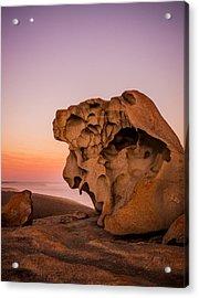 Remarkable Rocks Acrylic Print by Ryan  Carter
