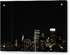 Remember September 11th Acrylic Print by Catie Canetti