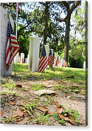 Acrylic Print featuring the photograph Remember The Sacrifice by Paul Mashburn