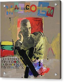 Acrylic Print featuring the mixed media Remember This by Cliff Spohn