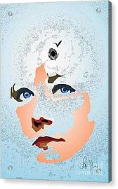 Acrylic Print featuring the digital art Reminiscences by Leo Symon