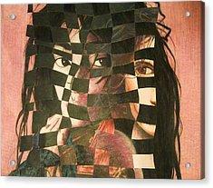 Remix Acrylic Print by Sheila Preston-Ford