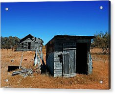 Acrylic Print featuring the photograph Remnants Of The Past by Renee Hardison