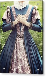 Renaissance Princess Acrylic Print by Joana Kruse
