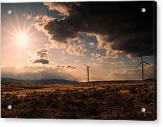 Renewable Energy Acrylic Print by Dan Mihai