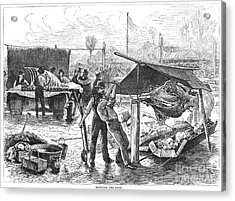 Republican Barbecue, 1876 Acrylic Print by Granger