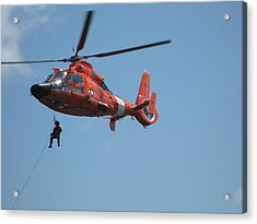 Rescue Helicopter 2 Acrylic Print