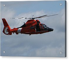 Rescue Helicopter Acrylic Print