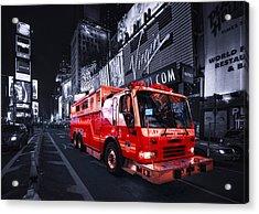 Rescue Me Acrylic Print by Evelina Kremsdorf