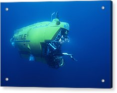 Research Submersible Acrylic Print by Alexis Rosenfeld
