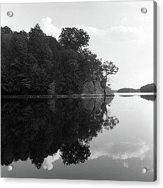 Reservoir Reflection Acrylic Print by Adam Garelick