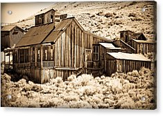 Residence At The Old Mill Acrylic Print by Levin Rodriguez