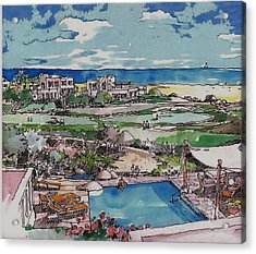 Resort Acrylic Print