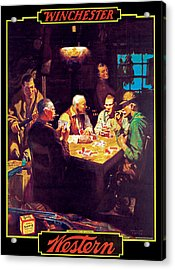 Respecters Of Limites Acrylic Print by William Eaton
