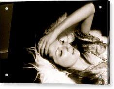 Rest Acrylic Print by Kim Aberle