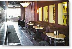 Restaurant Bar Seating Acrylic Print