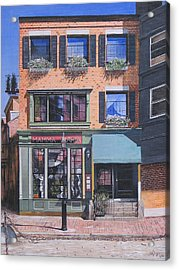Restaurant Boston North End Acrylic Print